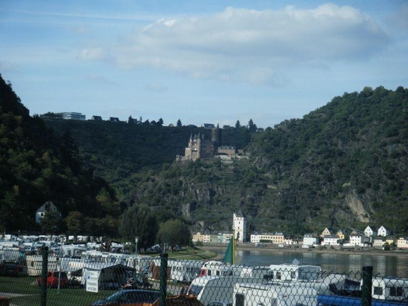 Castles along the Rhine River by aussirose - Oestrich-Winkel