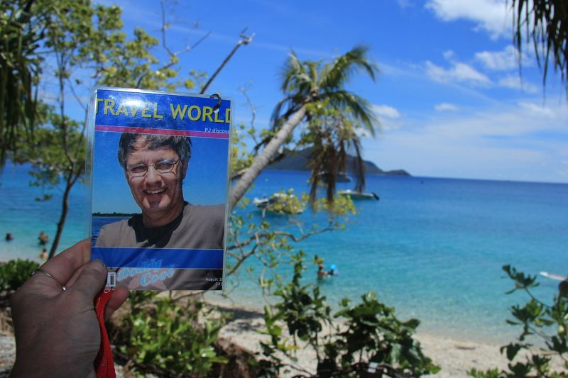 PJ enjoys lovely scenery at Fitzroy Island Cairns - Cairns