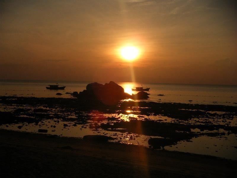 Sunset Pulau Tioman Malaysia