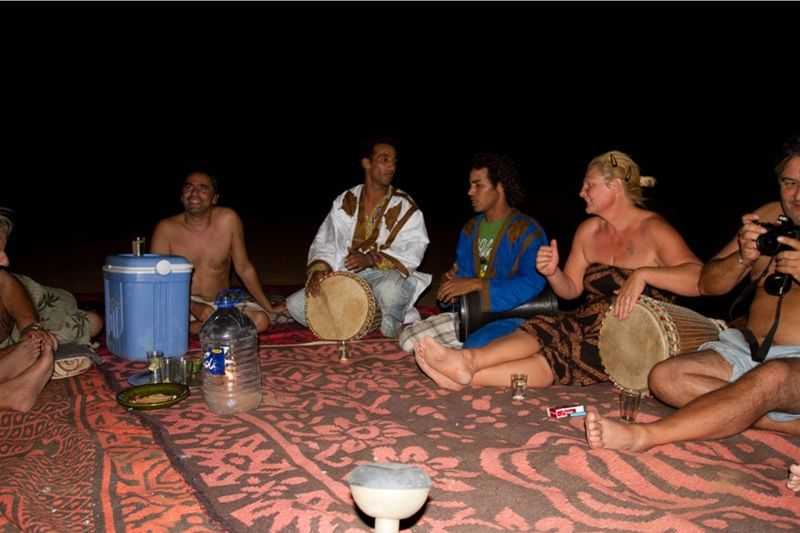 Party time in the Sahara Desert by aussirose - Morocco