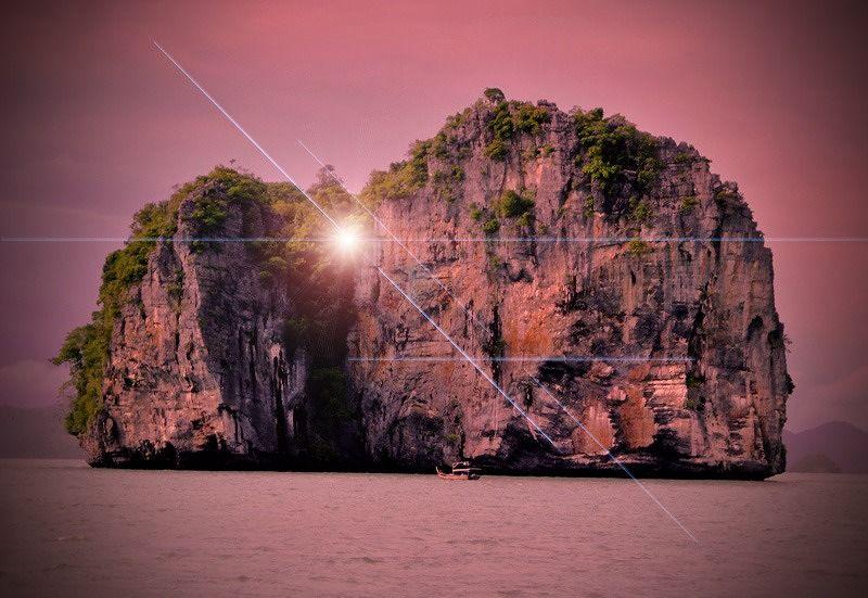Photoshopped beach Pulau Langkawi by aussirose