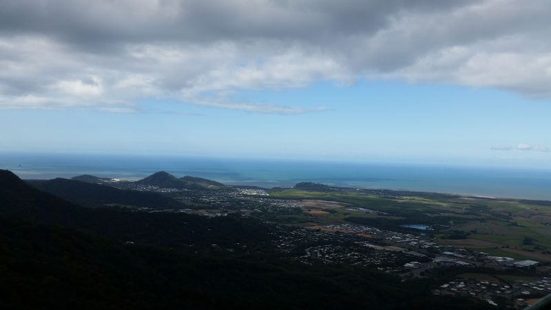 View from Cairns Skyrail by aussirose - Cairns