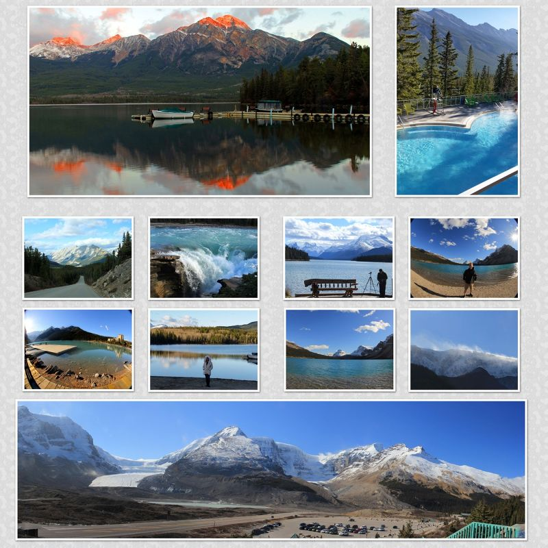 Canadian Rockies Collage by aussirose