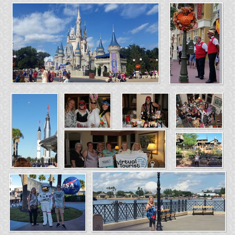 Orlando Florida Collage by aussirose