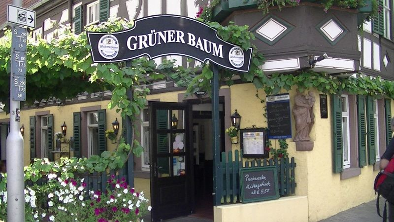 Gruner Baum - Oldest Pub in Oestrich-Winkel - Oestrich-Winkel