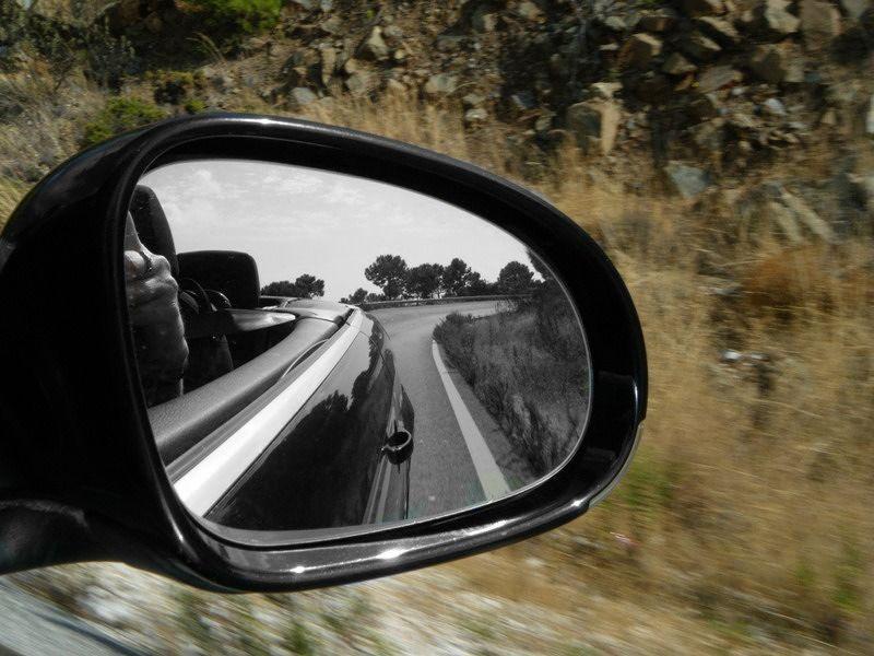 aussirose drives south Spain countryside - Ronda