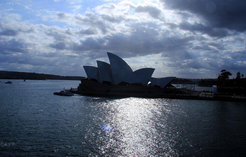 Opera House from Carnival Spirit by aussirose