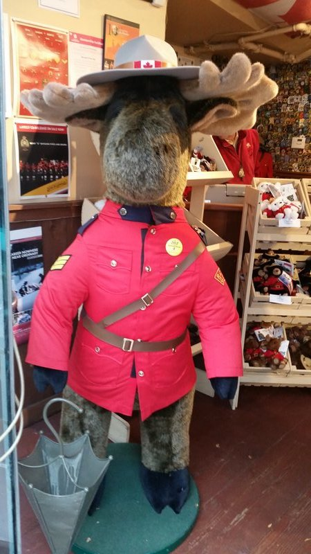 Vancouver - Gastown - Mounted Police Store