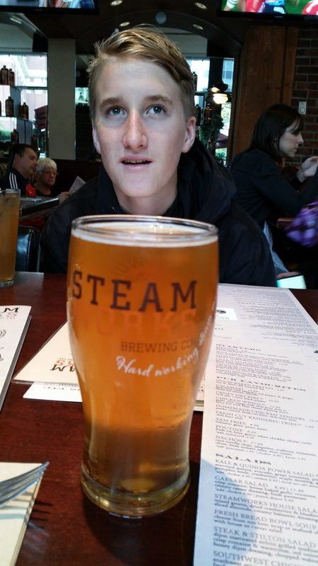 Vancouver - Gastown - Steam Works Brewery