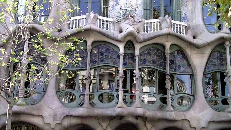Gaudi Casa Balto Barcelona up close by aussirose - Barcelona