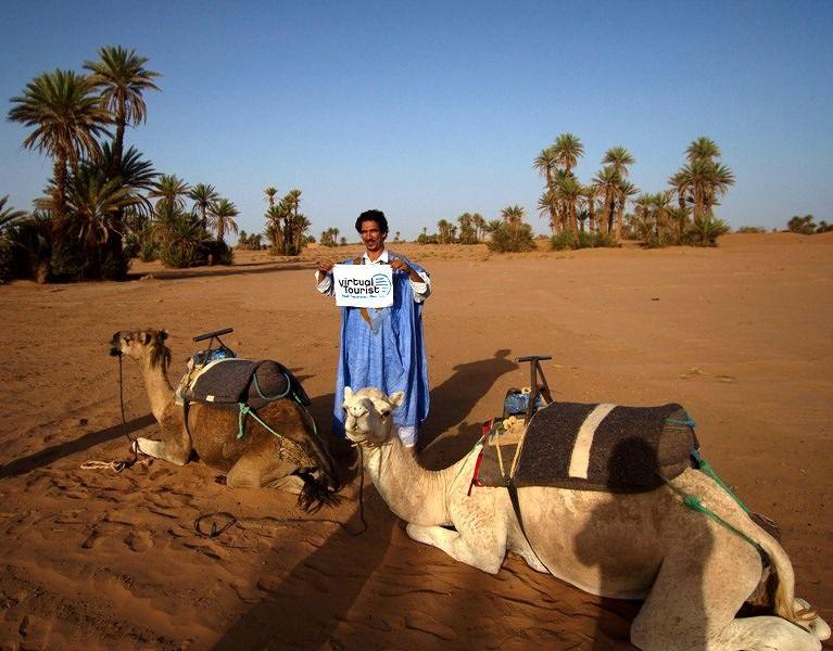 Habib, Owner of Sahara Dreams Maroc by aussirose - Morocco