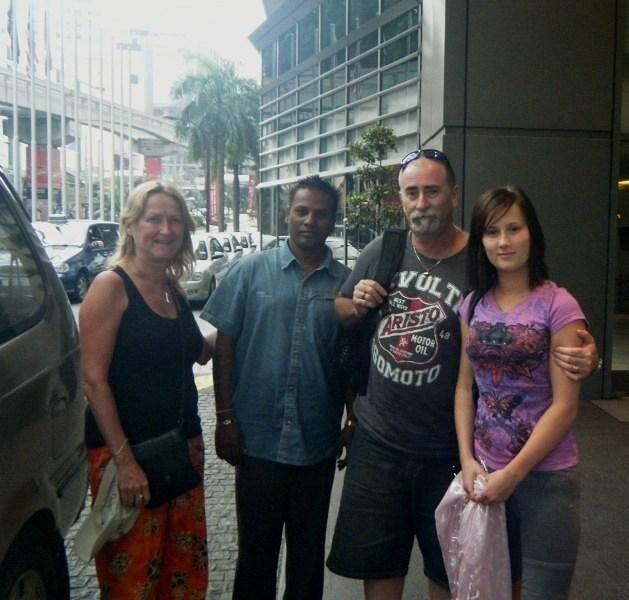 Melaka with Driver Patrick by aussirose