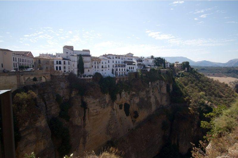 Views from bridge in Ronda by aussirose - Ronda