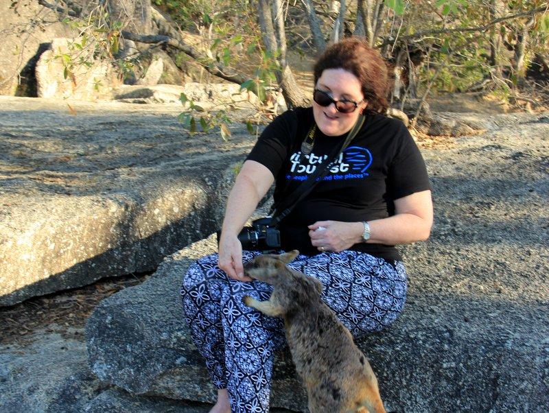 Al with Rock Wallaby 2