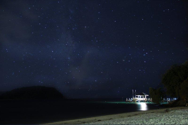Malaysia - Manukan Island - Night Sky 1