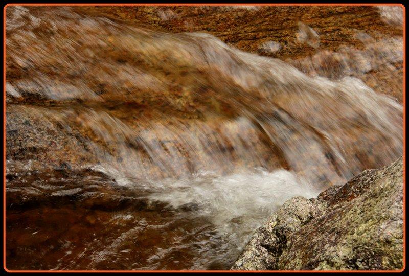 Malaysia - Cameron Highlands - Waterfall Rocks 2