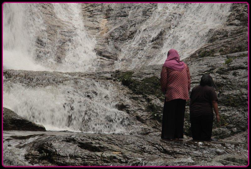 Malaysia - Cameron Highlands - Watterfall People