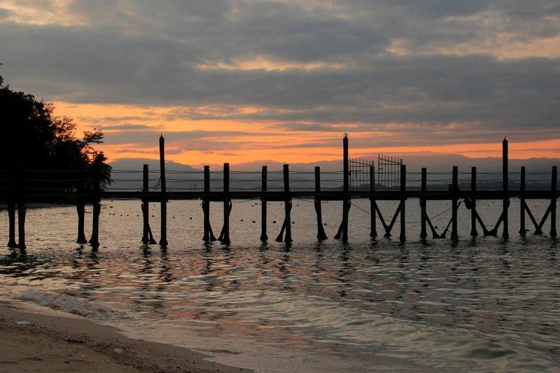 Malaysia - Manukan Bridge Sunset
