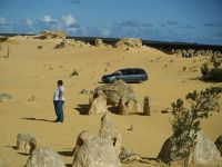 Gillybob at The Pinnacles Western Australia - Cervantes