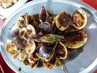 aussirose tastes lala (pippies) - Pulau Ketam - crab island inn