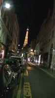 Eiffel Tower at night - Paris