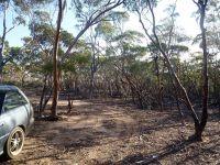 Howie navigates bush tracks to Yellowdine Lake WA - Yellowdine