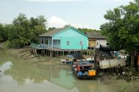 Quaint Fishing Village Pulau Ketam by aussirose
