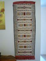 aussirose buys carpet from local berber in Tinghir - Morocco