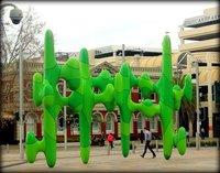 Perth Green Cactus