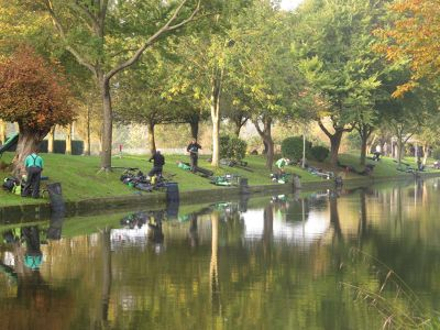 Fishing in The Royal Military Canal