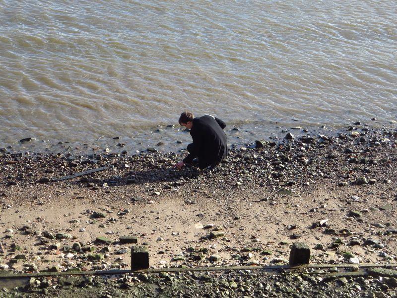 Mudlarking on the Thames