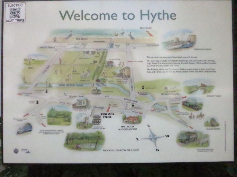 Hythe History Map