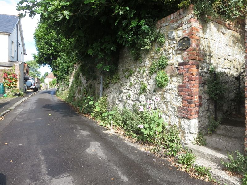 The Medieval Walls of Hythe