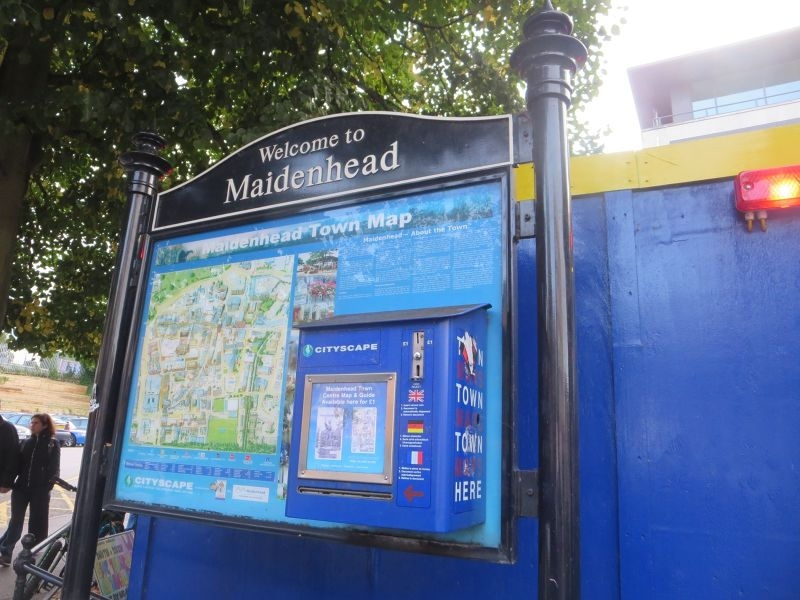 Maidenhead Sign