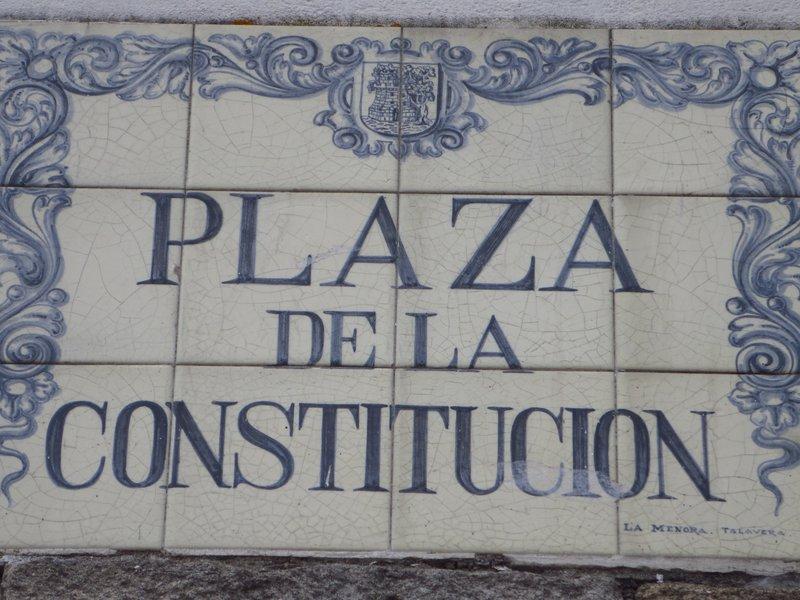 A plaque Tile