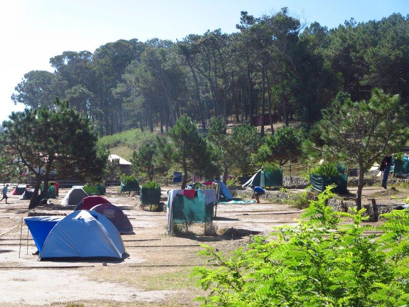 Camping at Cies Isles