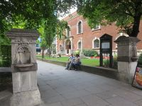 Main entrance to the gardens