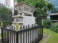 Sir Williams Rawlins tombstone