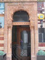 Decorative door entrance