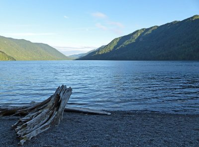 Morning at Lake Crescent