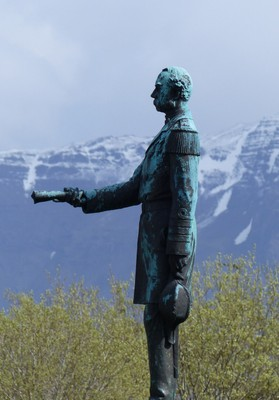 Statue of King Christian IX, Reykjavik