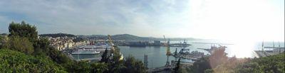 Panorama of the port - Ancona