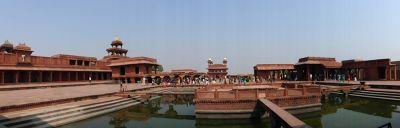 Around Anup Talao - Fatehpur Sikri