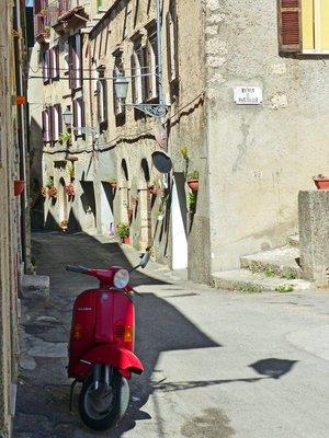 via Pio Spaccamela, Arpino