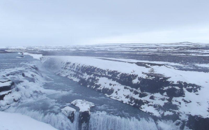 Gullfoss - the Upper Falls