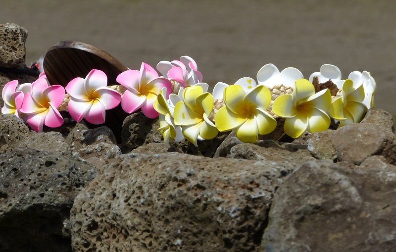 Craft stall at Ahu Tongariki, Rapa Nui