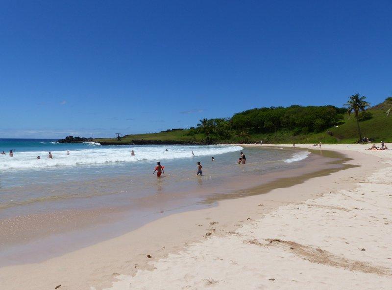 Anakena Beach, Rapa Nui