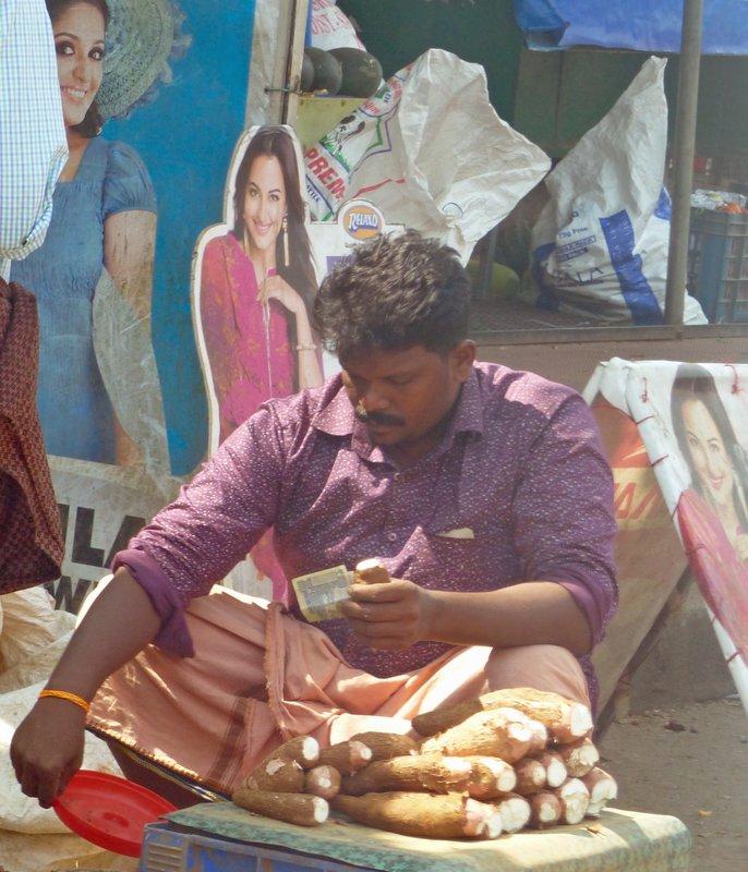 Selling tapioca
