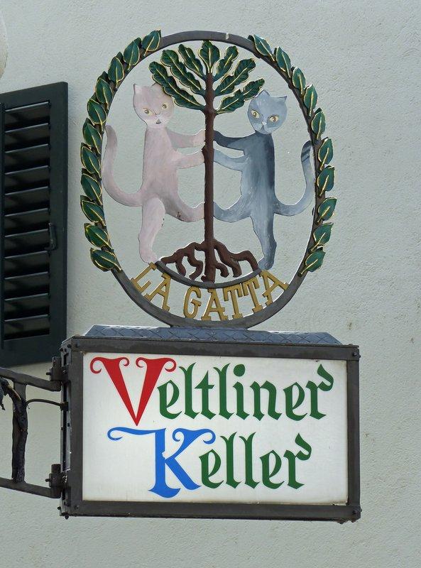 Restaurant sign in Zurich