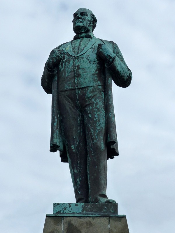 Statue of Jón Sigurðsson, Reykjavik